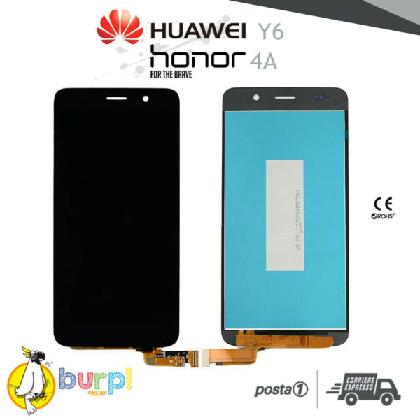 DISPLAY LCD TOUCH SCREEN HUAWEI Y6 HONOR 4A SCL L01 SCL L21 NERO ASCEND AAA 232951131230