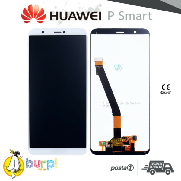 DISPLAY LCD TOUCH SCREEN VETRO PER HUAWEI P SMART BIANCO FIG LA1 LX1 LX2 LX3 232951226430