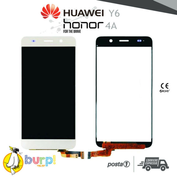 DISPLAY LCD TOUCH SCREEN HUAWEI Y6 HONOR 4A SCL L01 SCL L21 BIANCO ASCEND 232951123073