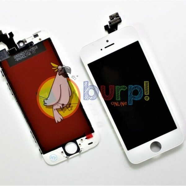 DISPLAY LCD TOUCH SCREEN SCHERMO APPLE IPHONE 5 5G BIANCO WHITE VETRO VETRINO 233147198953