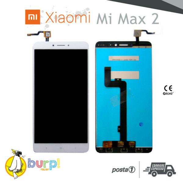 DISPLAY LCD TOUCH SCREEN XIAOMI MI MAX 2 BIANCO WHITE SCHERMO ASSEMBLATO AAA 233167204903