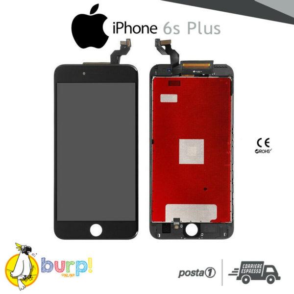 TOUCH SCREEN DISPLAY APPLE IPHONE 6S PLUS VETRO LCD RETINA SCHERMO NERO BLACK 233188952443