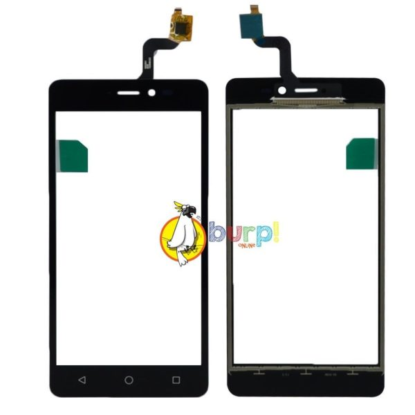 TOUCH SCREEN PER WIKO FREDDY NERO BLACK DISPLAY GLASS VETRO VETRINO DIGITIZER 232990738477