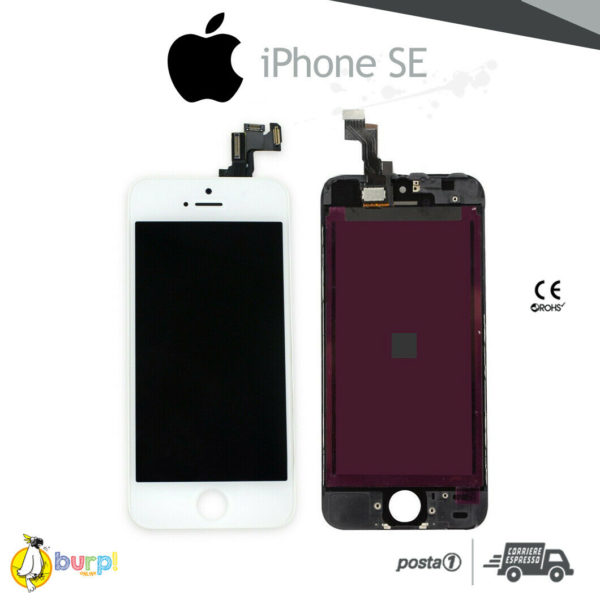 DISPLAY LCD TOUCH SCREEN PER APPLE IPHONE SE VETRO BIANCO SCHERMO MONITOR AAA 233375153918